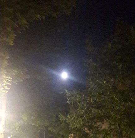 La luna en Parquesol