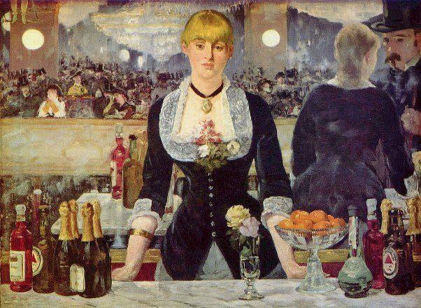 Manet Miroir